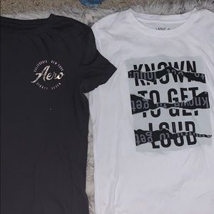 NWOT aeropostale's shirts PRICE FOR BOTH
